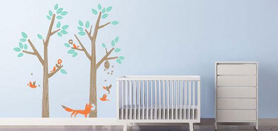 اتاق کودک خود را با ایده تم جنگل طراحی کنید+تصاویر