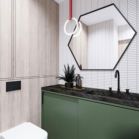آپارتمان زیر 60 متر را بهترین روش مدرن و شیک طراحی کنید/ زیباترین چیدمان+تصاویر
