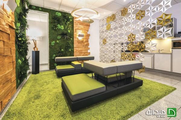 باغچه های عمودی با طراحی حیرت انگیزشان که در داخل خانه به کار گرفته شده اند+تصاویر
