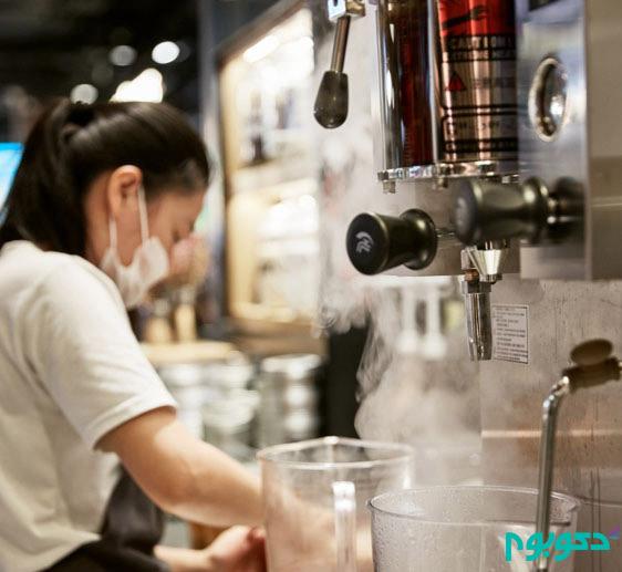 دکوراسیون داخلی صمیمانه و گرم کافه ای کوچک در شانگهای چین+تصاویر