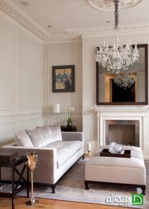 دکوراسیون فضاهای داخلی خانه به سبک ویکتوریایی+ تصاویر