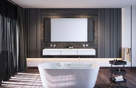 دکوراسیون داخلی حمام را با ایده های منحصر به فرد طراحی کنید+تصاویر