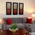 تزئین دیوارهای اتاق خواب ، پذیرایی و دیوار پشت تلویزیون با ایده هایی بسیار ساده+تصاویر