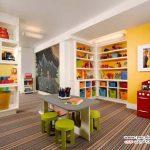 ایده های زیبا برای چیدمان یک اتاق بازی برای کودکان +عکس