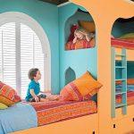 اتاق کودک رویایی با ایده های رنگارنگ +تصاویر