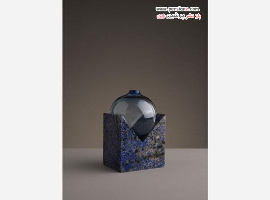 گلدان هایی با طراحی منحصر به فرد و ذوب شده ساخته یک استودیو هنری در سوئد! +عکس
