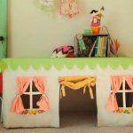 تصاویری زیبا از چادرهای بازی اتاق کودک+ تصاویر