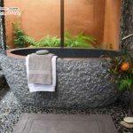 تصاویر جالبی از وان حمام های سنگی +عکس