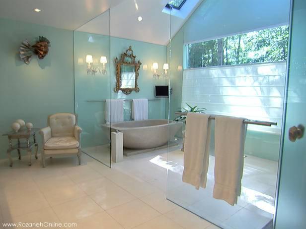 حمام های رویایی و لوکس و بی نظیر + تصاویر