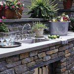 عکس : آشپزخانه در فضای باز