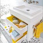 ایده هایی ساده برای تزئین حمام و دستشویی+ تصاویر