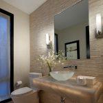 طراحی شیک و مدن دیوار حمام با سنگ های آنتیک+تصاویر