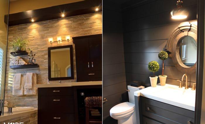 مدرن ترین نورپردازی برای سرویس بهداشتی+تصاویر