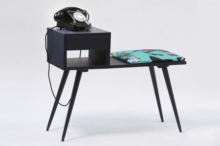 کاربرد میز تلفن در دکوراسیون داخلی+ تصاویر