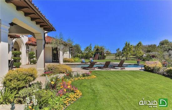 دکوراسیون خانه زیبا با منظره ی بی نظیر بریتنی اسپیرز ستاره مشهور هالیوود+تصاویر