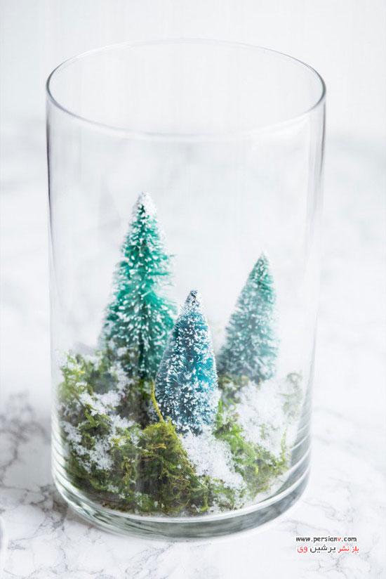 تزئینات دکوری زیبا در منزل در فصل زمستان +عکس