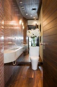 حمام و سرویس های بهداشتی کوچک را اینگونه طراحی کنید+تصاویر