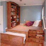 دکوراسیون اتاق خواب کوچک و ایده هایی برای جا دادن وسایل در آن +عکس