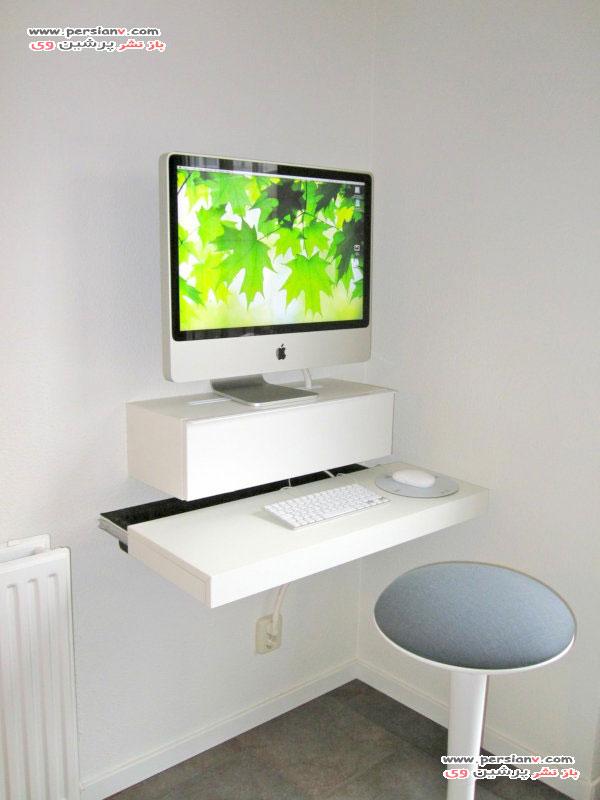 مدل دکوراسیون های اتاق دفترکار و میزکار خانگی +عکس