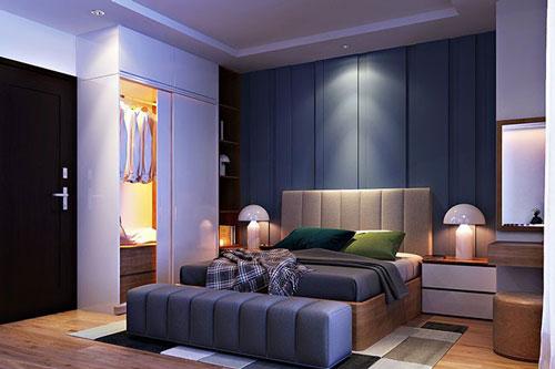 طراحی فوق العاده شیک و مدرن برای اتاق خواب دونفره +تصاویر