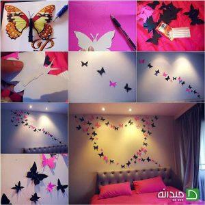 با ۷ راهکار سریع و ارزان، دیوارهای اتاق خود را تزئین کنید+تصاویر