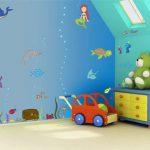 کاغذ دیواری های مدرن و جذاب کودکانه + تصاویر