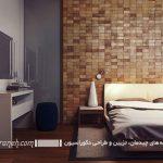 با ایجاد نقطه کانونی در اتاق خوابتان زیبایی آن را دوچندان کنید+تصاویر