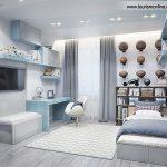 طراحی شاد و زیبای داخلی اتاق کودک + تصاویر