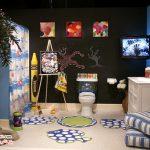 طراحی های رنگارنگ و بانمک حمام کودک +عکس