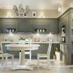 دکوراسیون آشپزخانه به سبک سنتی در انواع مدلهای گوناگون+تصاویر