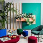 آپارتمان مدرن و شیک رنگی با ایده های دکوراسیون رنگی 2017