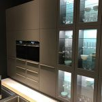 نمونه هایی از کابینت های شیشه ای مدرن و زیبا آشپزخانه+تصاویر