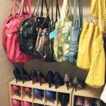 ایده هایی جالب برای مرتب کردن کیف و کفش ها در دکوراسیون