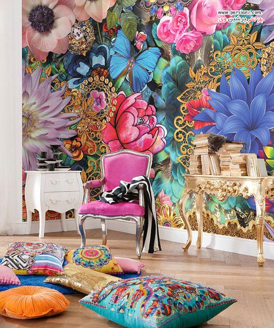 نقاشی های دیواری به سبک بوهمیایی
