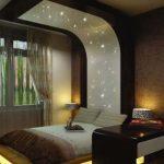 طراحی مدرن و شیک برای دکوراسیون اتاق خواب قهوه ای
