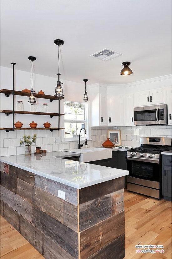 زیباترین طراحی های آشپزخانه