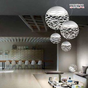 مدل لامپ های برش لیزری با نمایی لوکس برای دکوراسیون داخلی و خارجی منزل