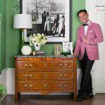 اتاق نشیمن به رنگ سبز زمردی و بسیار شیک تشبیه شده به جعبه جواهر! +عکس