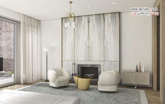 دکوراسیون مدرن منزل مجری مشهور