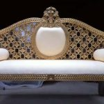 انواع مدل های مبل نیمه سلطنتی با طراحی شیک و مدرن