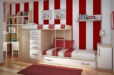 اتاق خواب مشترک کودکان