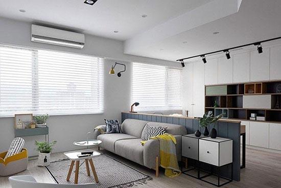 ایده ای مدرن برای چیدمان منزل به سبک اروپایی و اسکاندیناویایی