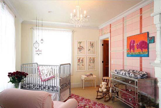طراحی اتاق نوزاد