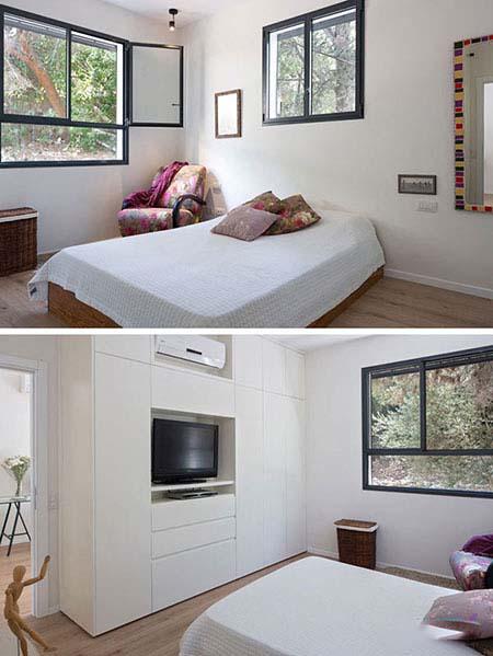 آپارتمان کوچک با تم سبز