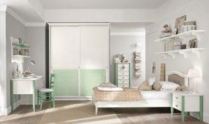دکوراسیون اتاق کودک با تم سفید رنگ شاد