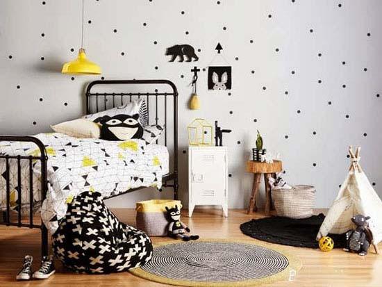 اتاق کودک با تم سفید