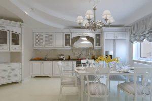 طراحی جدید و با شکوه دکوراسیون آشپزخانه کلاسیک