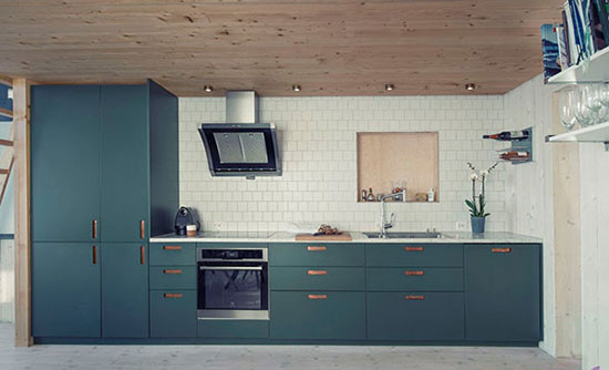 دکوراسيون آبي آشپزخانه