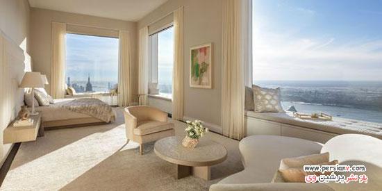 طراحی داخلی آپارتمان لوکس