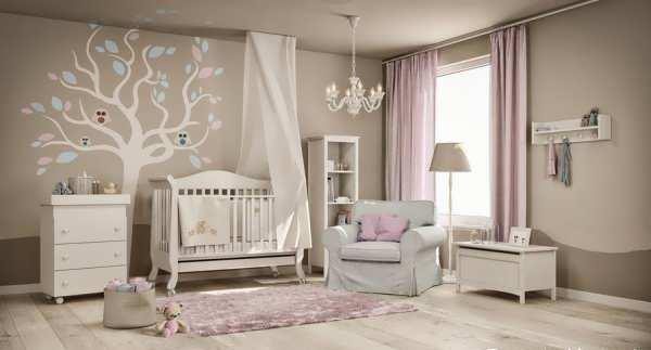 اتاق خواب نوزاد پسر